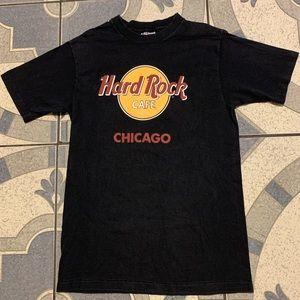 Vintage Hard Rock Chicago Single-Stitched Tee Sz M